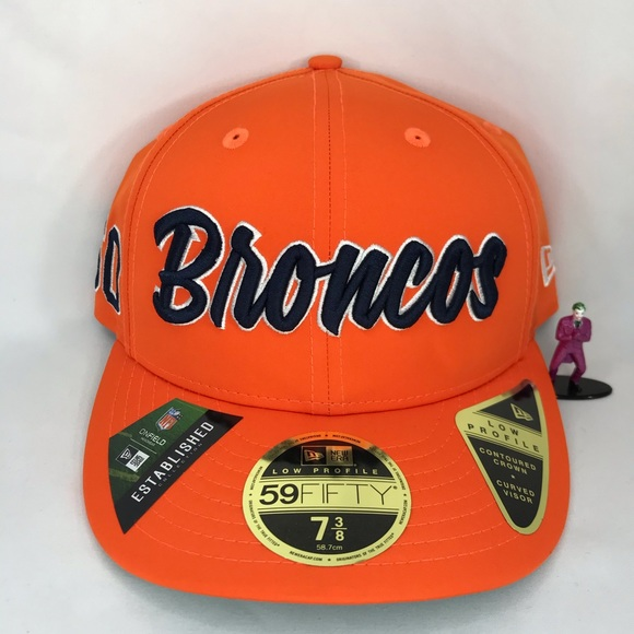 Denver Broncos 5950 New Era Fitted Cap (Low Pro)